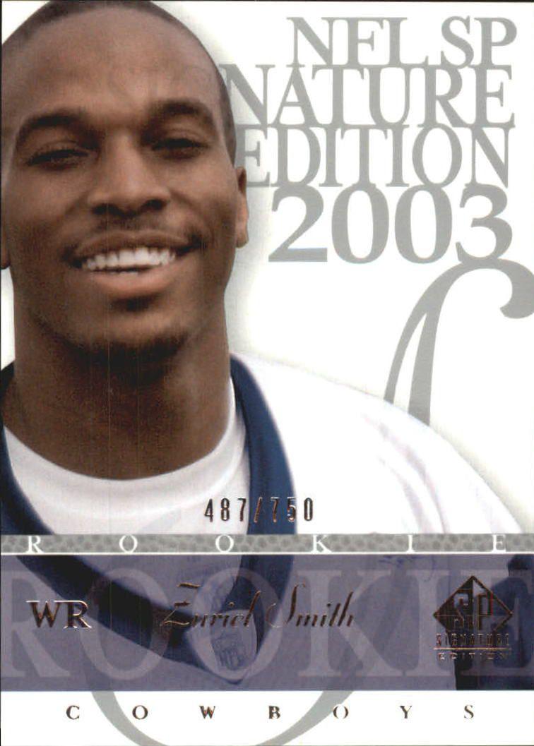 2003 SP Signature #150 Zuriel Smith RC
