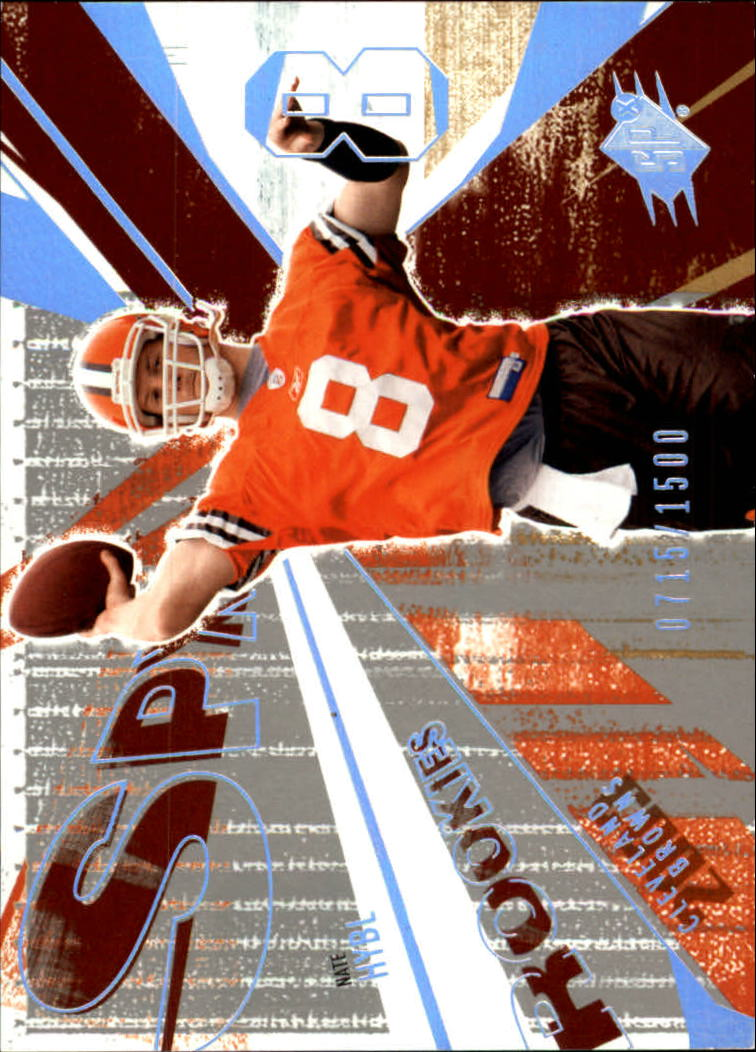2003 SPx #126 Nate Hybl RC