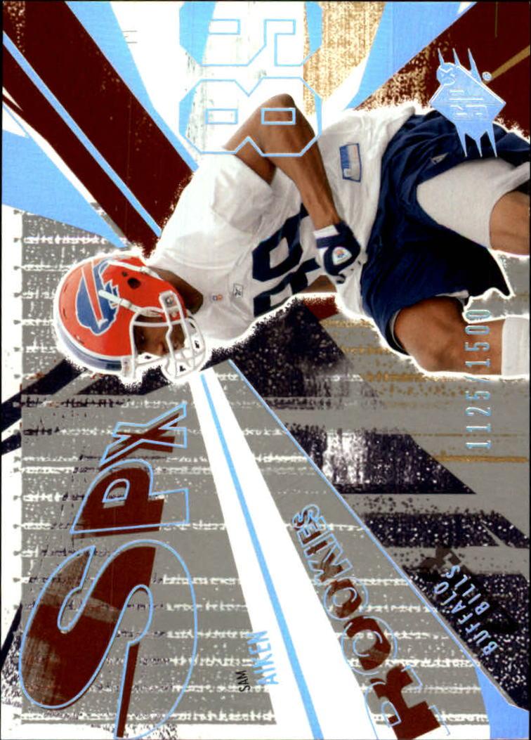 2003 SPx #161 Sam Aiken RC