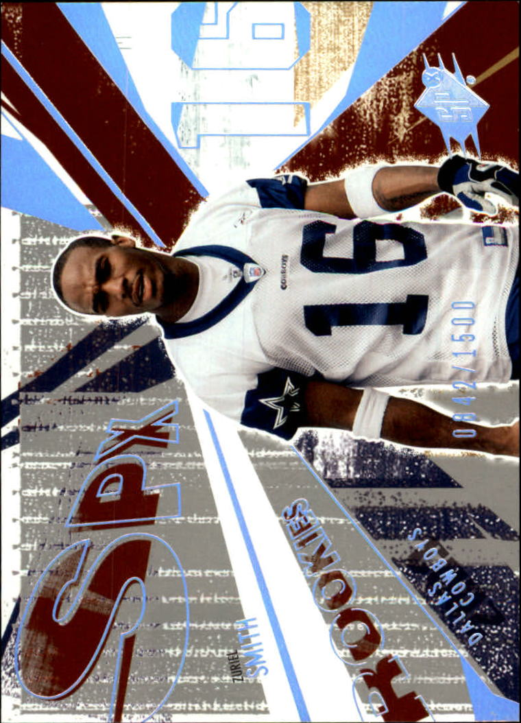 2003 SPx #165 Zuriel Smith RC
