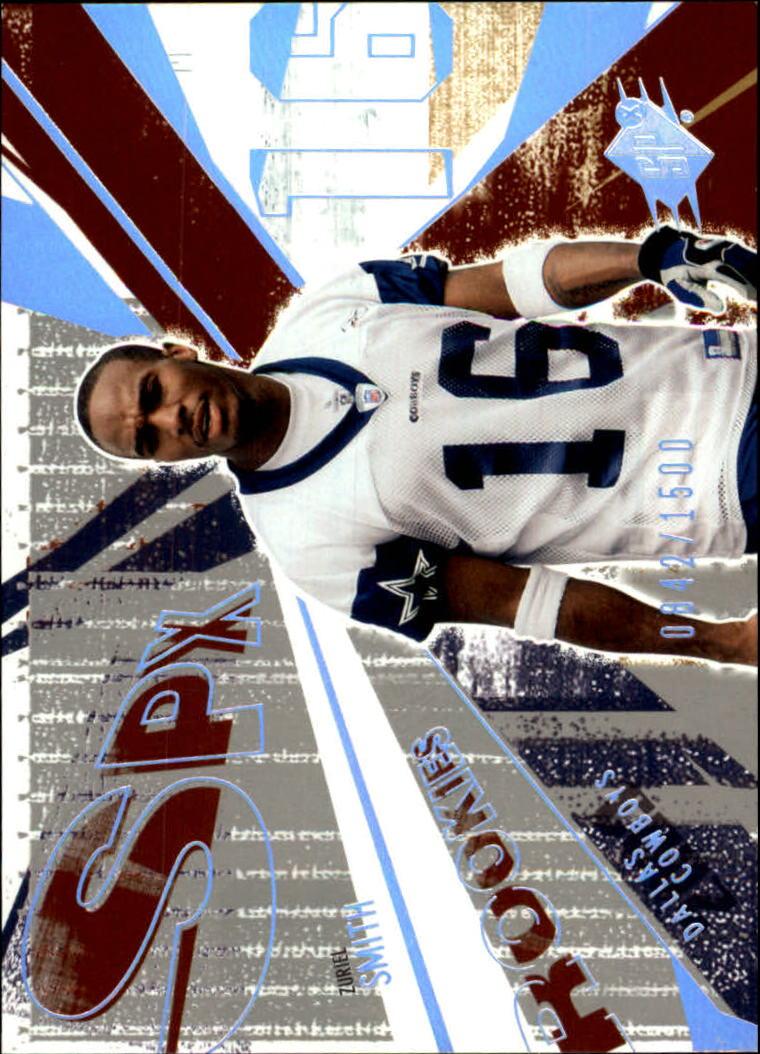 2003 SPx #165 Zuriel Smith RC