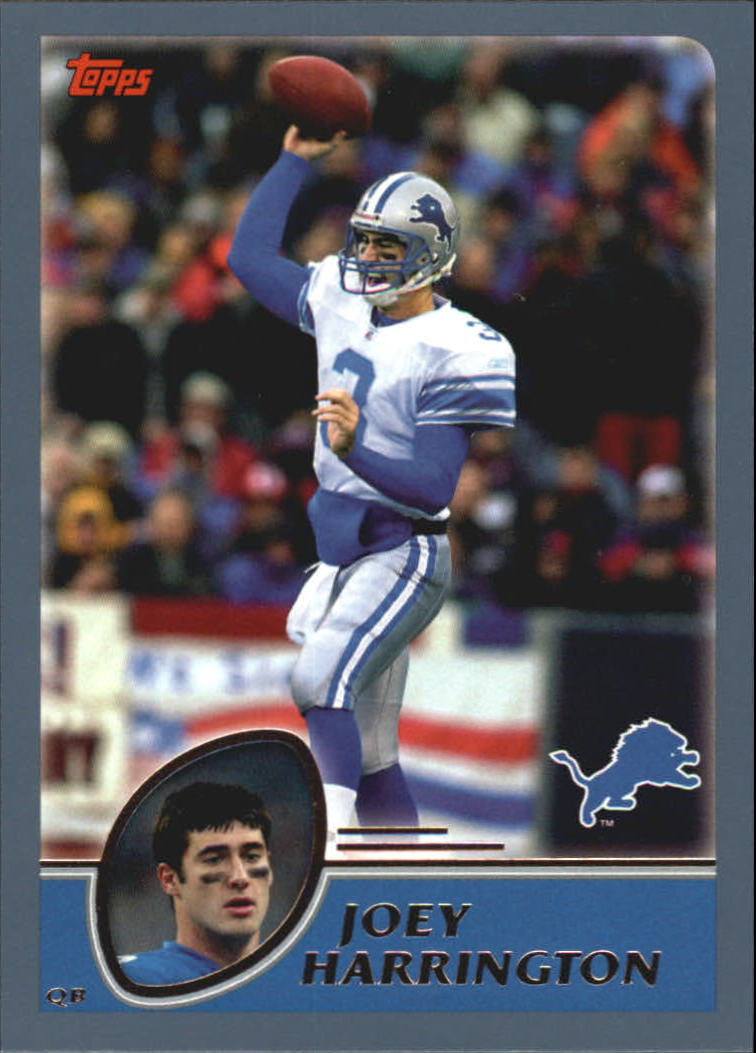 2003 Topps #174 Joey Harrington