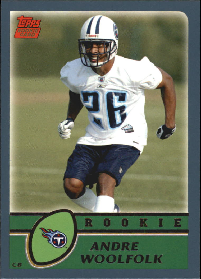 2003 Topps #366 Andre Woolfolk RC
