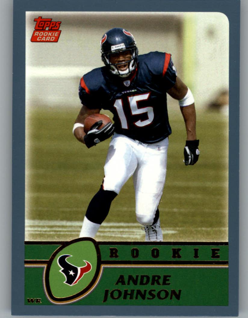 2003 Topps #380 Andre Johnson RC
