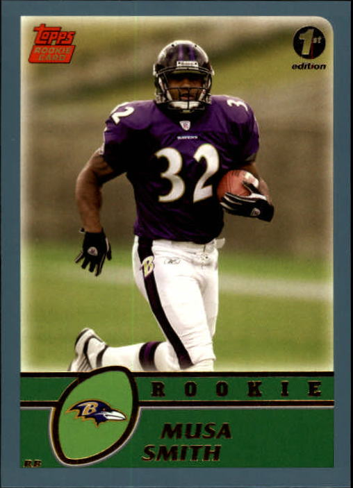 2003 Topps First Edition #377 Musa Smith