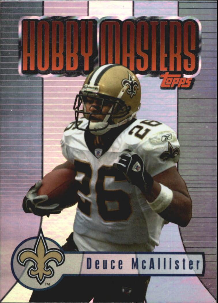 2003 Topps Hobby Masters #HM9 Deuce McAllister