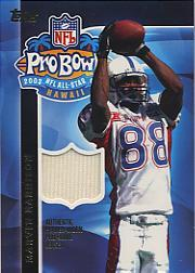 2003 Topps Pro Bowl Jerseys  APMH Marvin Harrison 7983e69ea