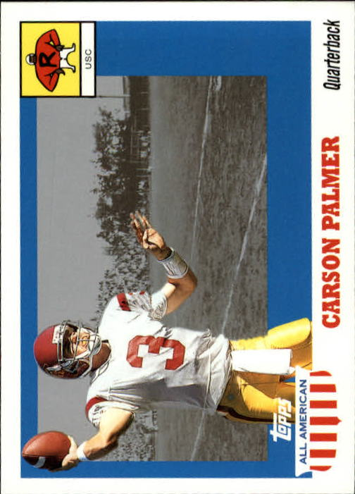 2003 Topps All American #101 Carson Palmer RC