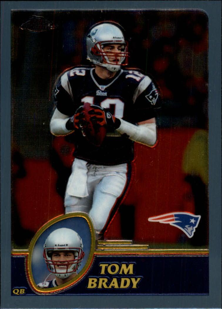 2003 Topps Chrome #124 Tom Brady