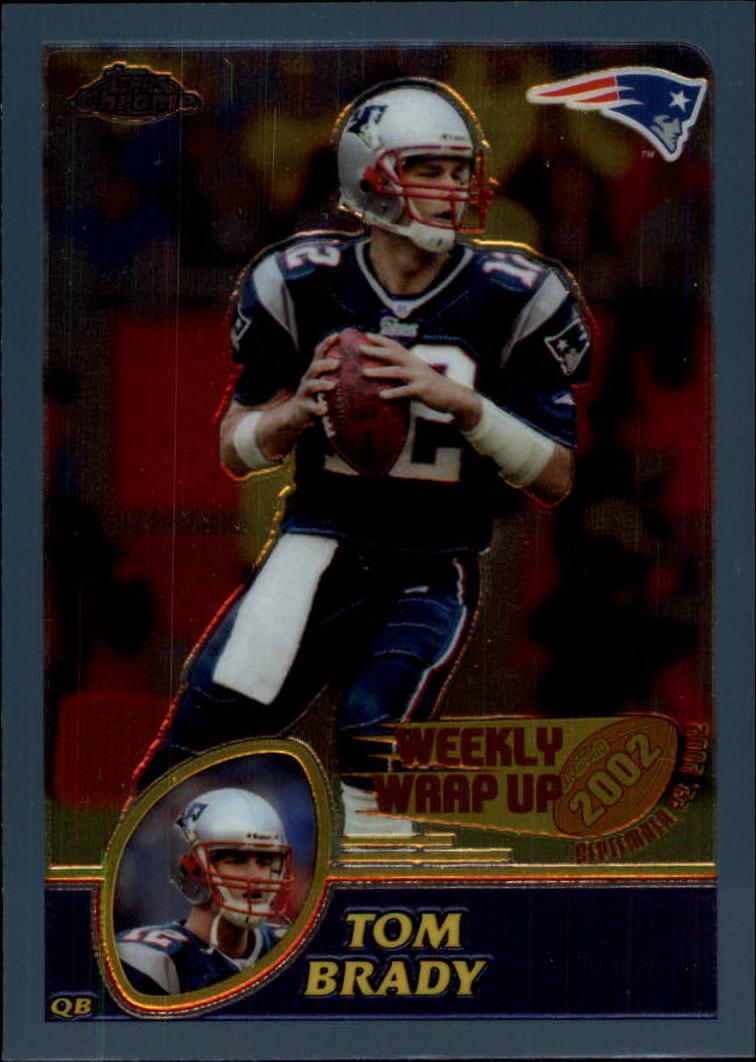 2003 Topps Chrome #148 Tom Brady WW