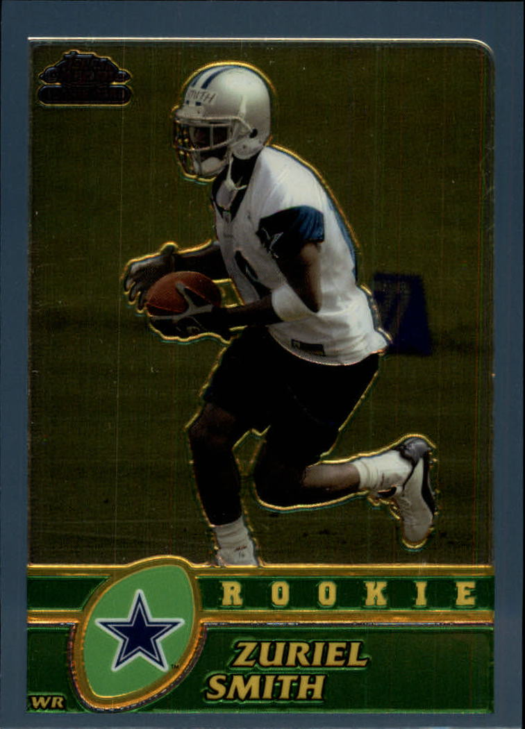 2003 Topps Chrome #256 Zuriel Smith RC