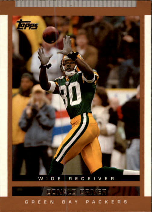 2003 Topps Draft Picks and Prospects #3 Donald Driver