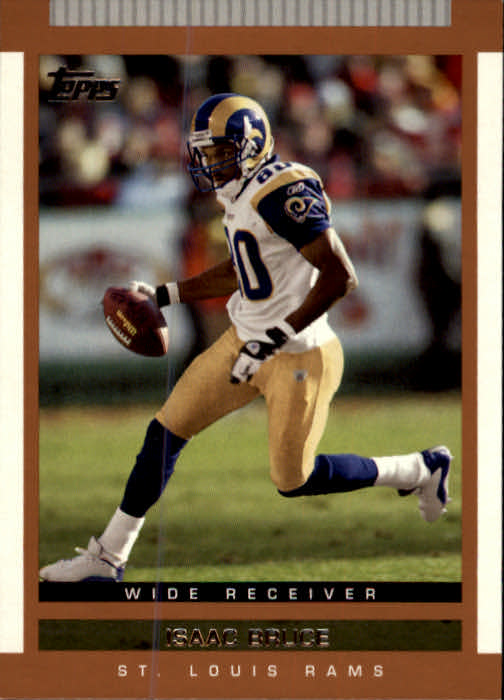 2003 Topps Draft Picks and Prospects #8 Isaac Bruce