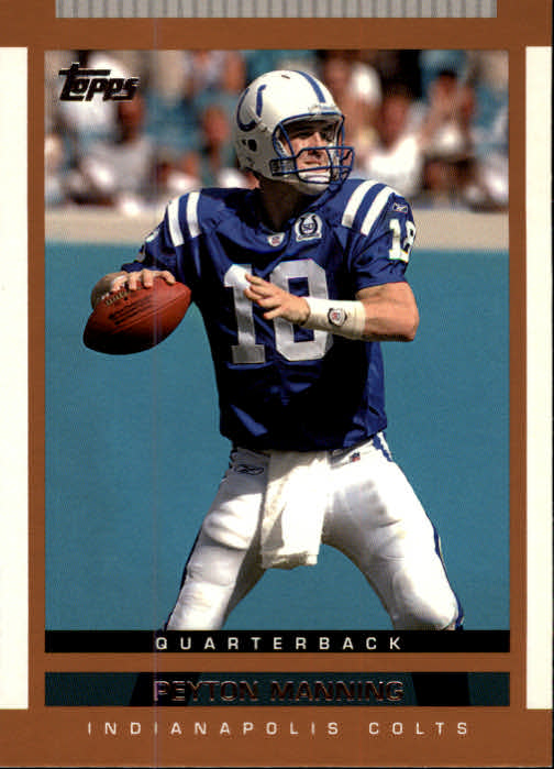 2003 Topps Draft Picks and Prospects #10 Peyton Manning