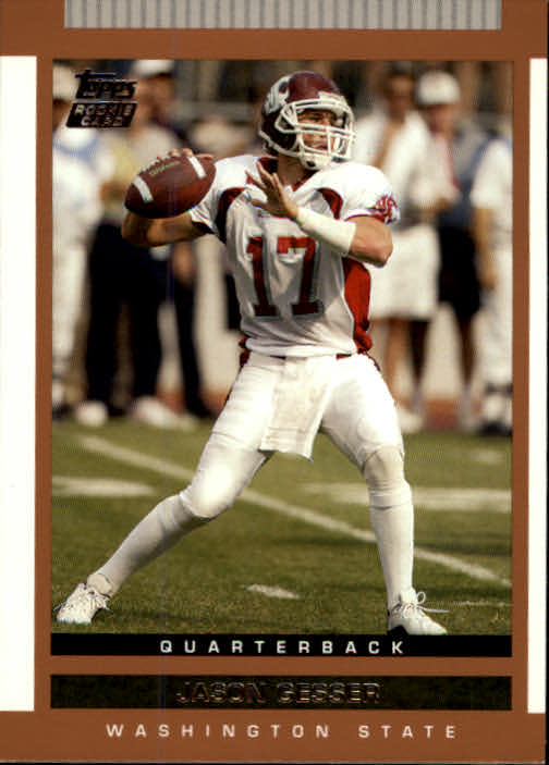 2003 Topps Draft Picks and Prospects #121 Jason Gesser RC