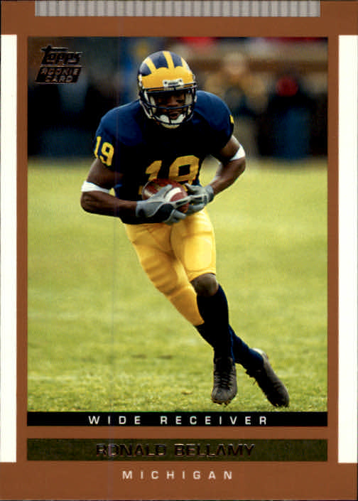 2003 Topps Draft Picks and Prospects #122 Ronald Bellamy RC