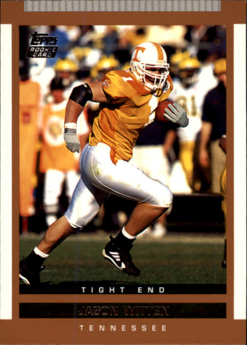 2003 Topps Draft Picks and Prospects #127 Jason Witten RC