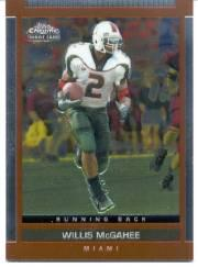 2003 Topps Draft Picks and Prospects Chrome #140 Willis McGahee
