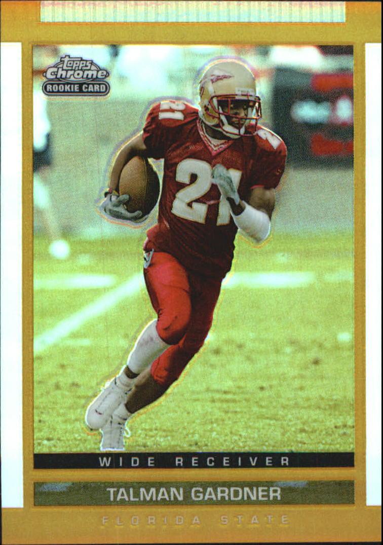 2003 Topps Draft Picks and Prospects Chrome Gold Refractors #142 Talman Gardner