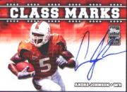 2003 Topps Draft Picks and Prospects Class Marks Autographs #CMAJ Andre Johnson B