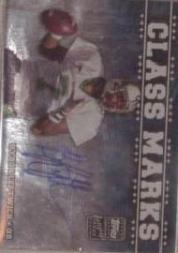 2003 Topps Draft Picks and Prospects Class Marks Autographs Silver #CMBL Byron Leftwich
