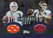 2003 Topps Draft Picks and Prospects Classmate Cuts Foil #CCDDG Ken Dorsey/Jason Gesser