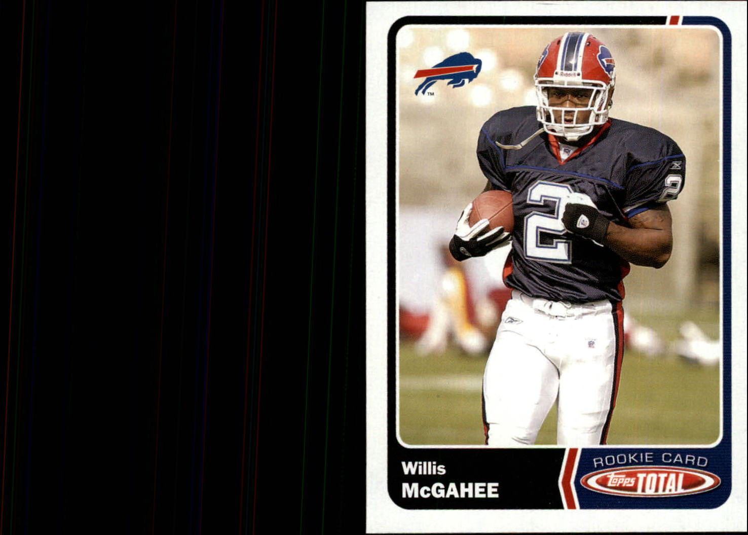 2003 Topps Total #470 Willis McGahee RC