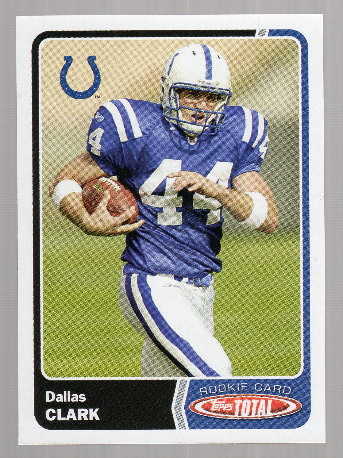 2003 Topps Total #547 Dallas Clark RC