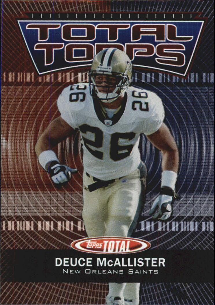 2003 Topps Total Total Topps #TT12 Deuce McAllister