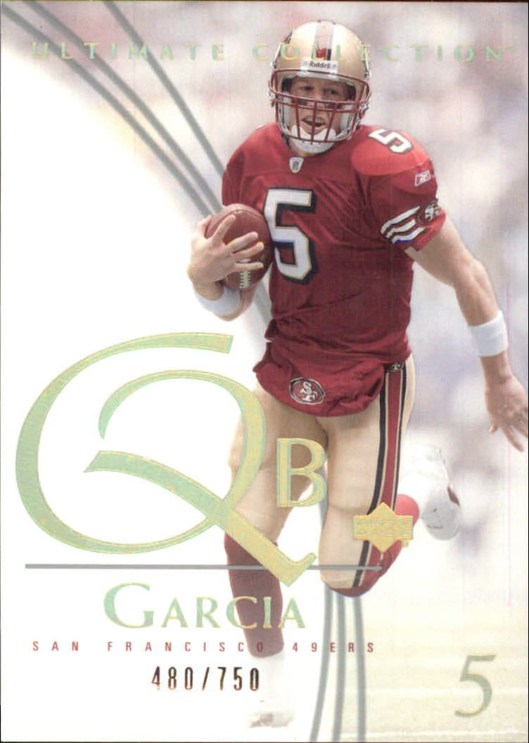 2003 Ultimate Collection #6 Jeff Garcia