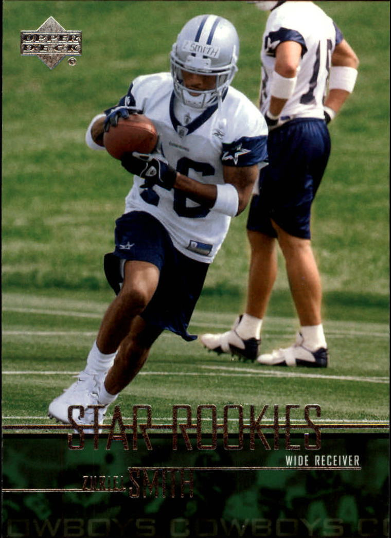 2003 Upper Deck #281 Zuriel Smith RC