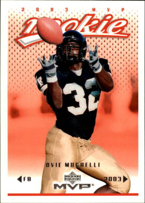 2003 Upper Deck MVP #350 Ovie Mughelli RC