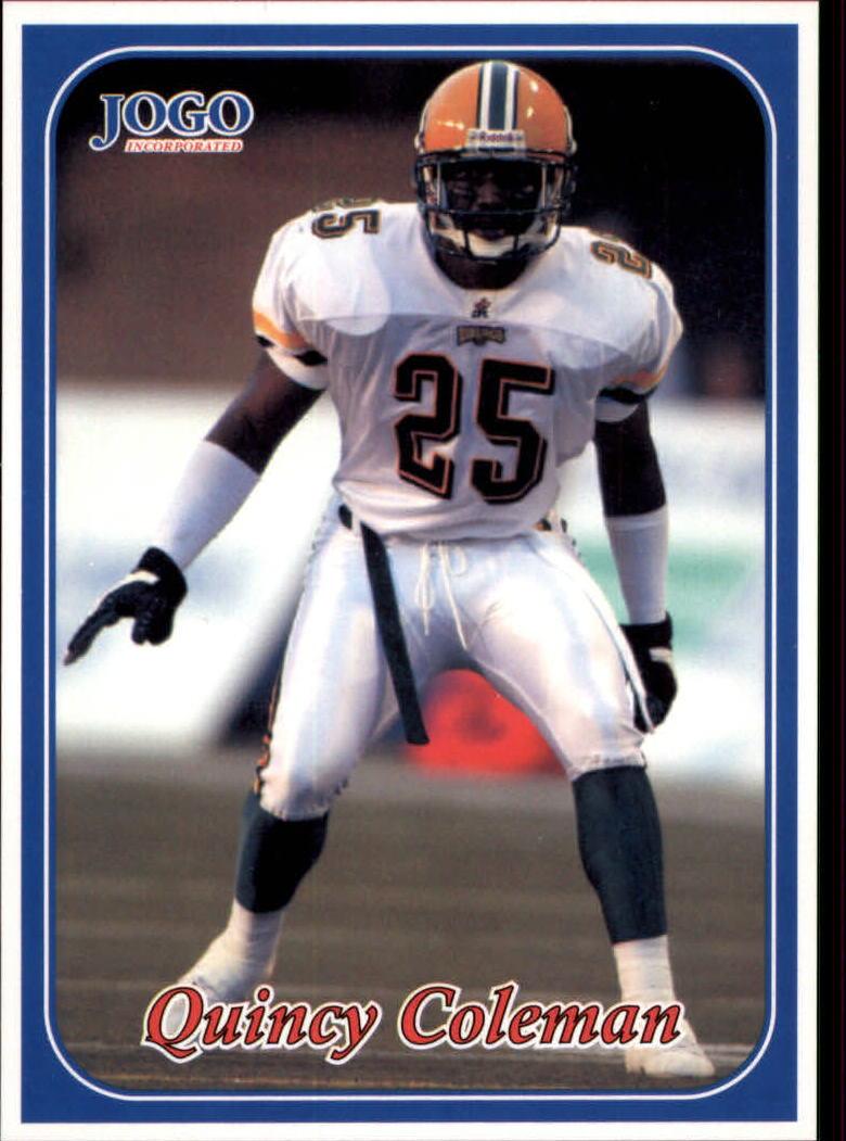 2003 JOGO #34 Quincy Coleman