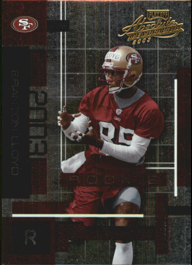 2003 Absolute Memorabilia #102 Brandon Lloyd RC