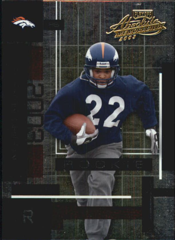 2003 Absolute Memorabilia #110 Quentin Griffin RC