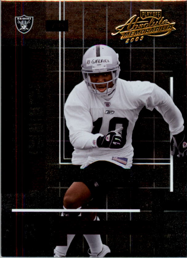 2003 Absolute Memorabilia #116 Doug Gabriel RC