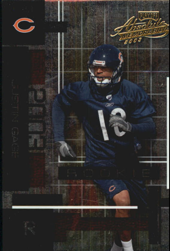 2003 Absolute Memorabilia #117 Justin Gage RC