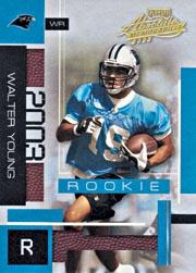 2003 Absolute Memorabilia #123 Walter Young RC