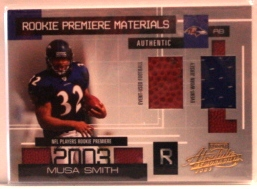 2003 Absolute Memorabilia #163 Musa Smith RPM RC