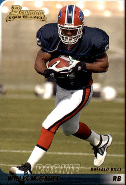 2003 Bowman #125 Willis McGahee RC