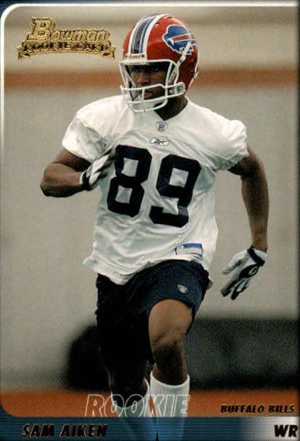 2003 Bowman #139 Sam Aiken RC