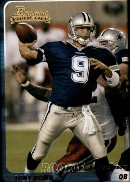 2003 Bowman #171 Tony Romo RC