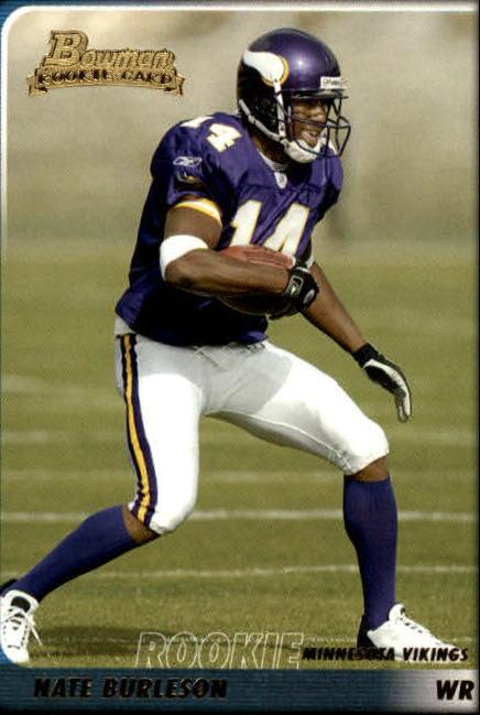 2003 Bowman #185 Nate Burleson RC
