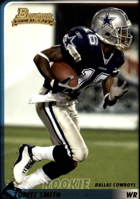 2003 Bowman #194 Zuriel Smith RC