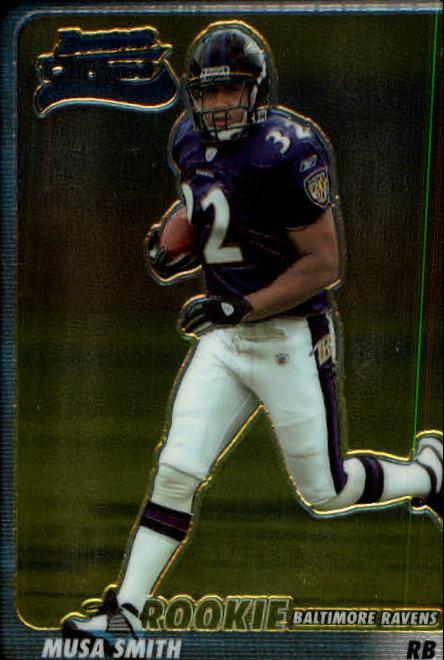 2003 Bowman Chrome #116 Musa Smith RC