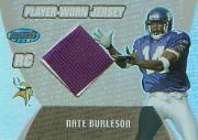 2003 Bowman's Best Blue #102 Nate Burleson JSY