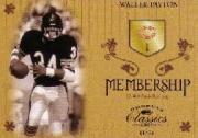 2003 Donruss Classics Membership #M16 Walter Payton