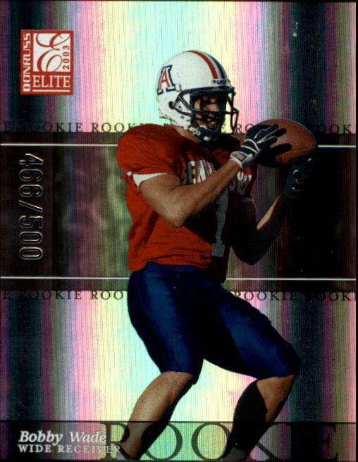2003 Donruss Elite #135 Bobby Wade RC
