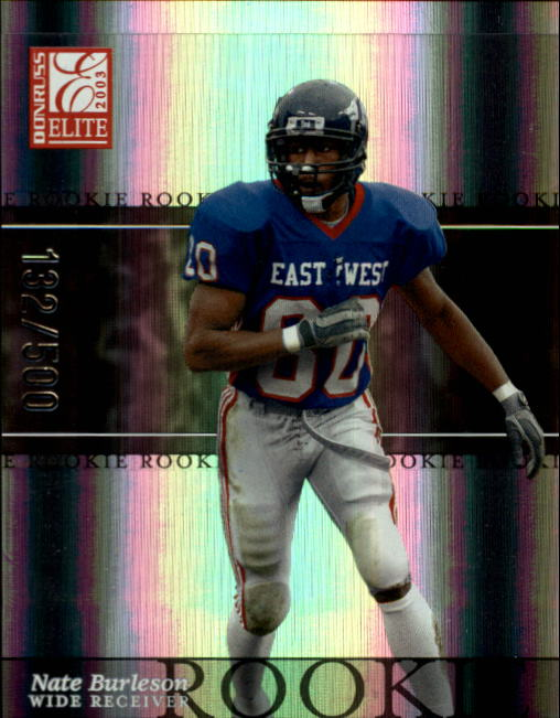 2003 Donruss Elite #144 Nate Burleson RC
