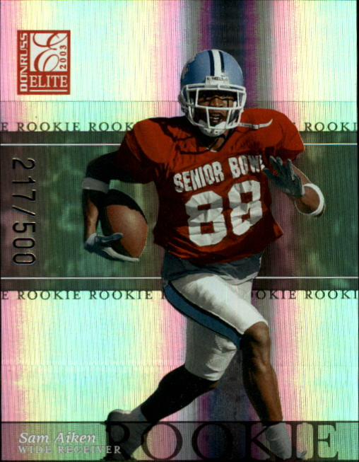 2003 Donruss Elite #145 Sam Aiken RC